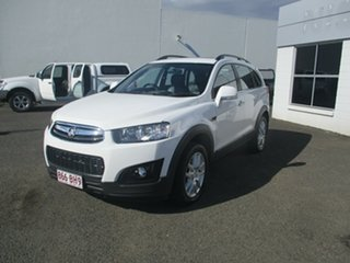 2015 Holden Captiva CG MY15 7 LS Active (FWD) White 6 Speed Automatic Wagon.