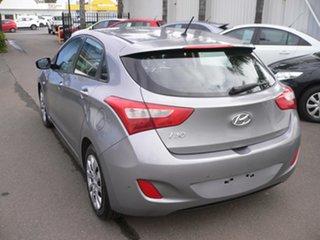 2014 Hyundai i30 GD2 Active Grey 6 Speed Sports Automatic Hatchback.