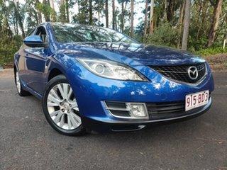 2008 Mazda 6 GH1051 Classic Metallic Blue 5 Speed Sports Automatic Sedan.