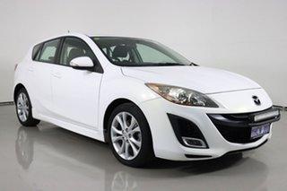 2009 Mazda 3 BL SP25 White 6 Speed Manual Hatchback.