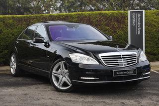 2011 Mercedes-Benz S-Class V221 MY11 S500 BlueEFFICIENCY L 7G-Tronic + Obsidian Black 7 Speed.