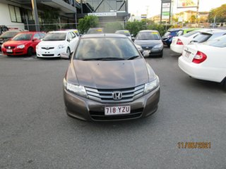 2010 Honda City GM VTi Grey 5 Speed Automatic Sedan.