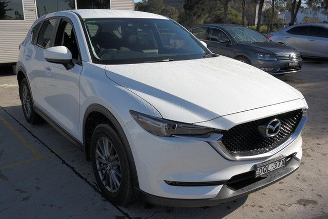 Used Mazda CX-5 KE1032 Maxx SKYACTIV-Drive i-ACTIV AWD Sport Maryville, 2017 Mazda CX-5 KE1032 Maxx SKYACTIV-Drive i-ACTIV AWD Sport White 6 Speed Sports Automatic Wagon