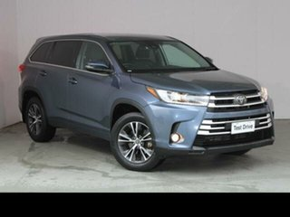 2019 Toyota Kluger Cosmos Blue Automatic Wagon.