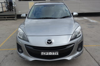 2013 Mazda 3 BL10L2 MY13 SP25 Silver 6 Speed Manual Sedan.