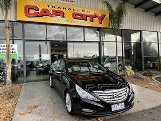 2010 Hyundai i45 YF MY11 Premium Black 6 Speed Automatic Sedan.