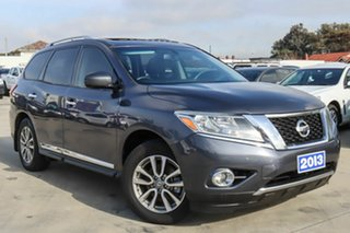2013 Nissan Pathfinder R52 MY14 ST-L X-tronic 4WD Grey 1 Speed Constant Variable Wagon