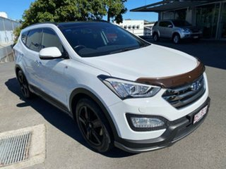 2015 Hyundai Santa Fe DM2 MY15 SR White 6 Speed Sports Automatic Wagon.