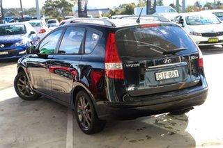 2012 Hyundai i30 GD Active Tourer Black 6 Speed Sports Automatic Wagon.