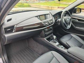 2014 BMW X1 E84 MY0314 sDrive20i Black 8 Speed Sports Automatic Wagon