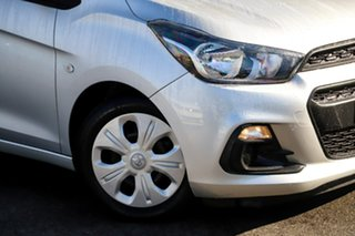 2016 Holden Spark MP MY16 LS Silver, Chrome 1 Speed Constant Variable Hatchback