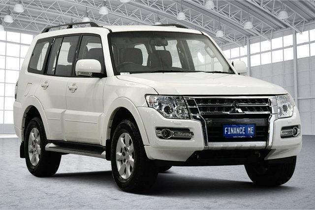 Used Mitsubishi Pajero NX MY20 GLX Victoria Park, 2020 Mitsubishi Pajero NX MY20 GLX White 5 Speed Sports Automatic Wagon
