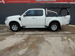 2011 Ford Ranger PK XLT Super Cab White 5 Speed Automatic Utility