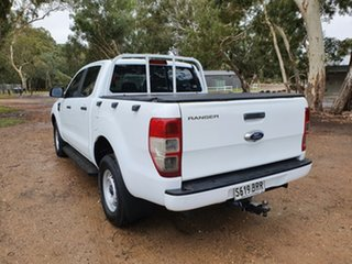 2017 Ford Ranger PX MkII XL Frozen White 6 Speed Manual Cab Chassis