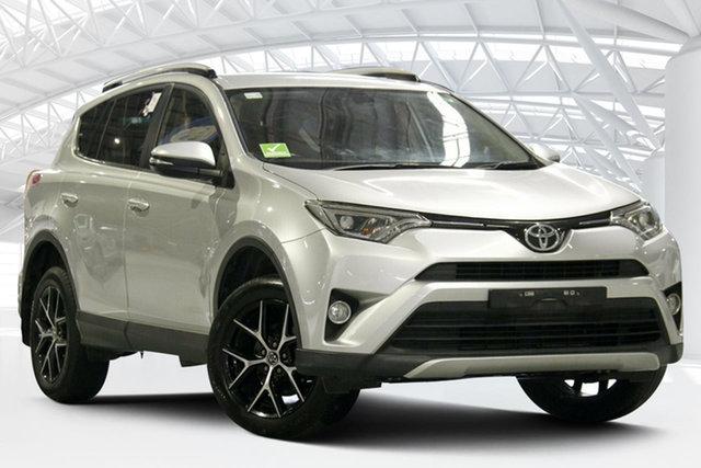 Used Toyota RAV4 ALA49R MY16 GXL (4x4) Moorebank, 2016 Toyota RAV4 ALA49R MY16 GXL (4x4) Silver Pearl 6 Speed Automatic Wagon
