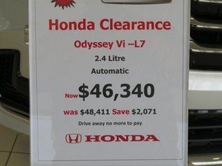 2020 Honda Odyssey RC 21YM Vi L7 Super Platinum 7 Speed Constant Variable Wagon.