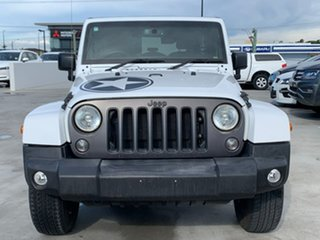2018 Jeep Wrangler JK MY18 Freedom White 5 Speed Automatic Softtop