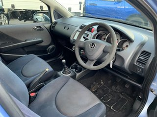 2002 Honda Jazz VTi Blue 5 Speed Manual Hatchback
