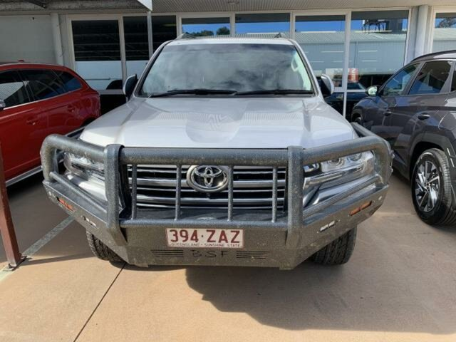 Pre-Owned Toyota Landcruiser VDJ200R LC200 VX (4x4) Emerald, 2019 Toyota Landcruiser VDJ200R LC200 VX (4x4) Silver Pearl 6 Speed Automatic Wagon