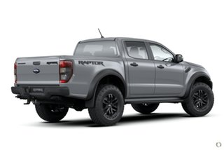 2020 Ford Ranger PX MkIII 2021.25MY Raptor Grey 10 Speed Sports Automatic Double Cab Pick Up.