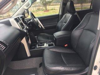2010 Toyota Landcruiser Prado KDJ150R VX White Sports Automatic