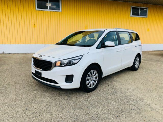 Used Kia Carnival YP MY17 S Canning Vale, 2017 Kia Carnival YP MY17 S White 6 Speed Sports Automatic Wagon