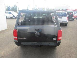 2013 Volkswagen Amarok TRENDLINE TDI420 Trendline (4x4) Black 8 Speed Automatic Wagon.