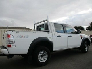 2010 Ford Ranger PK XL Crew Cab White 5 Speed Manual Cab Chassis