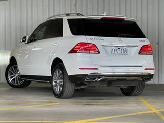 2015 Mercedes-Benz GLE-Class W166 GLE250 d 9G-Tronic 4MATIC White 9 Speed Sports Automatic Wagon.