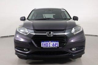 2015 Honda HR-V VTi-L Black Continuous Variable Wagon.