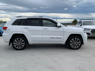 2018 Jeep Grand Cherokee WK MY18 Overland Bright White 8 Speed Sports Automatic Wagon.