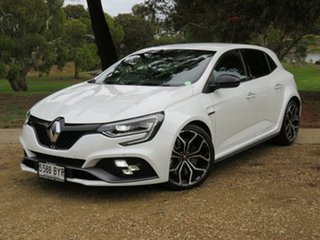 2018 Renault Megane BFB R.S. 280 EDC White 6 Speed Sports Automatic Dual Clutch Hatchback.