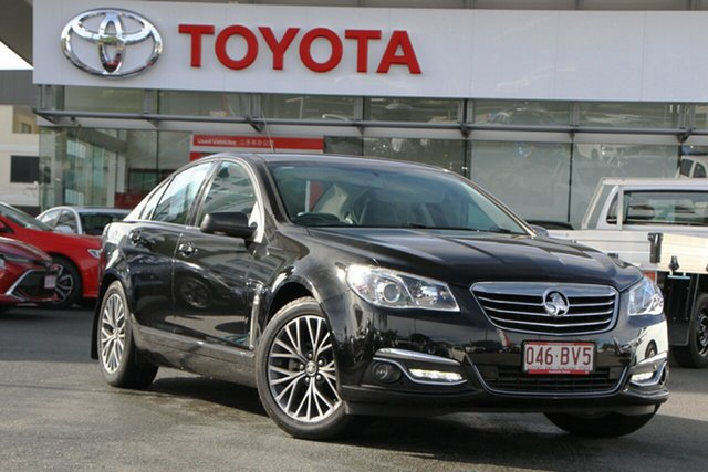 Pre-Owned Holden Calais VF II MY16 V Upper Mount Gravatt, 2016 Holden Calais VF II MY16 V Black 6 Speed Sports Automatic Sedan