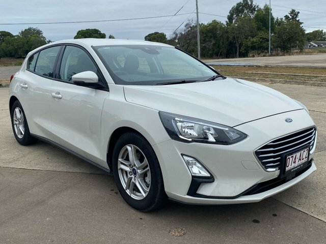 Used Ford Focus SA 2019.75MY Trend Townsville, 2019 Ford Focus SA 2019.75MY Trend Metropolis White 8 Speed Automatic Hatchback