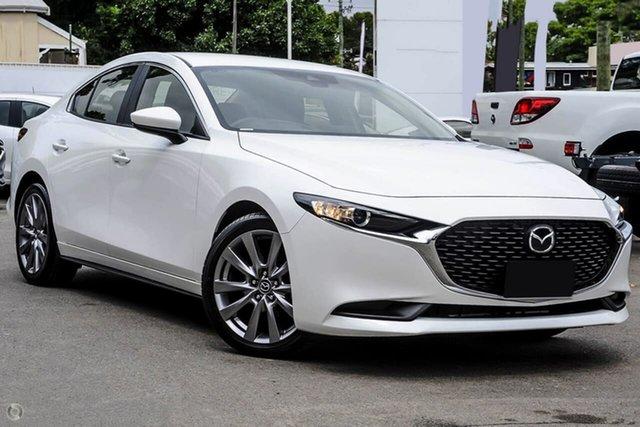 New Mazda 3 BP2S7A G20 SKYACTIV-Drive Evolve Waitara, 2021 Mazda 3 BP2S7A G20 SKYACTIV-Drive Evolve White 6 Speed Sports Automatic Sedan