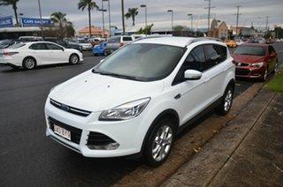 2014 Ford Kuga TF MK 2 Trend (AWD) White 6 Speed Automatic Wagon