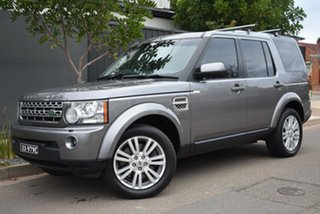 2010 Land Rover Discovery 4 Series 4 MY11 SDV6 CommandShift HSE Grey 6 Speed Sports Automatic Wagon.