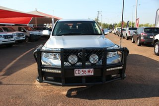 2015 Toyota Landcruiser VDJ200R MY13 GXL Silver Pearl 6 Speed Sports Automatic Wagon.