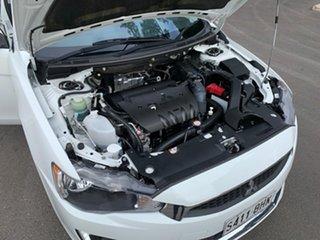 2015 Mitsubishi Lancer CJ MY15 LS White 6 Speed CVT Auto Sequential Sedan