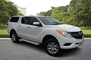 2014 Mazda BT-50 UP0YF1 XTR White 6 Speed Sports Automatic Utility.