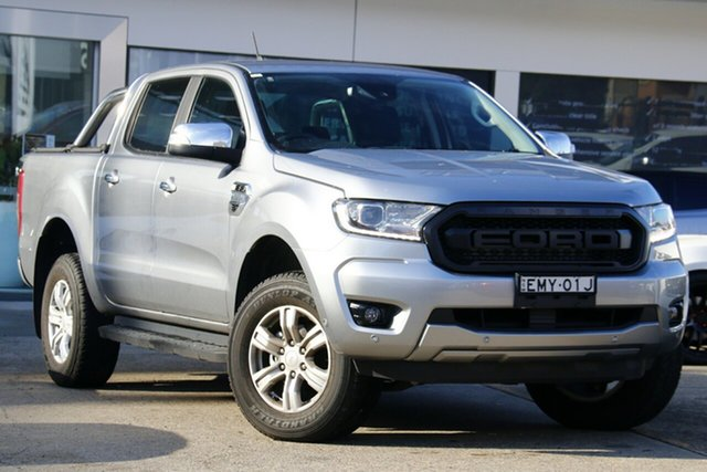 Used Ford Ranger PX MkIII 2020.25MY XLT Homebush, 2020 Ford Ranger PX MkIII 2020.25MY XLT Silver 6 Speed Sports Automatic Super Cab Pick Up