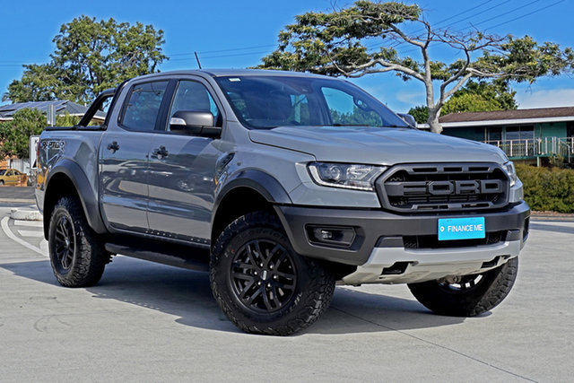 Used Ford Ranger PX MkIII 2019.00MY Raptor Capalaba, 2019 Ford Ranger PX MkIII 2019.00MY Raptor Grey 10 Speed Sports Automatic Double Cab Pick Up