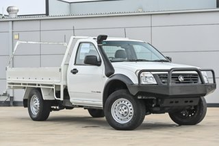 2005 Holden Rodeo RA MY05 DX White 5 Speed Manual Cab Chassis.