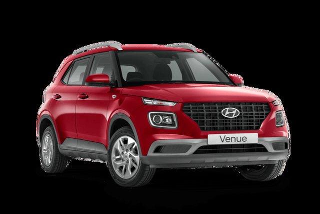 New Hyundai Venue Rutherford, 2021 Hyundai Venue Base Venue Fiery Red 6 Speed Manual SUV