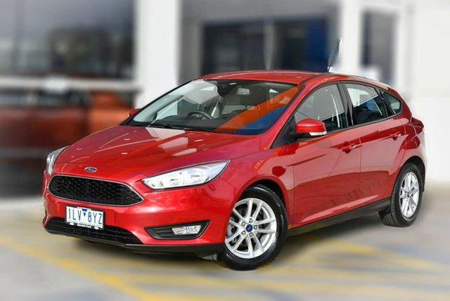 Used Ford Focus LZ Trend Berwick, 2017 Ford Focus LZ Trend Red 6 Speed Automatic Hatchback