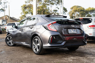 2020 Honda Civic 10th Gen MY20 VTi Modern Steel 1 Speed Constant Variable Hatchback.