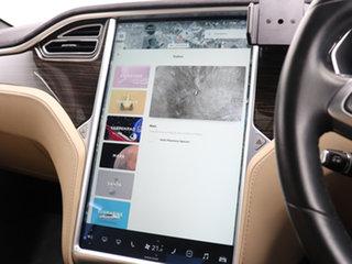 2015 Tesla Model S P85D Blue 1 Speed Automatic Hatchback