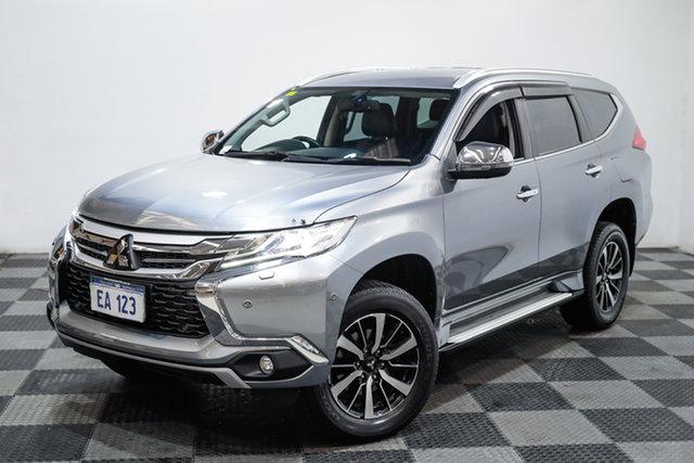 Used Mitsubishi Pajero Sport QE MY17 Exceed Edgewater, 2016 Mitsubishi Pajero Sport QE MY17 Exceed Grey 8 Speed Sports Automatic Wagon