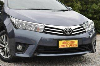 2014 Toyota Corolla ZRE172R SX Grey 6 Speed Manual Sedan