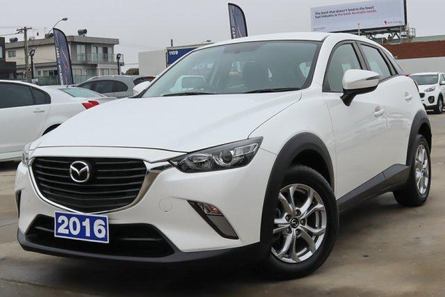 Used Mazda CX-3 DK2W7A Maxx SKYACTIV-Drive Coburg North, 2016 Mazda CX-3 DK2W7A Maxx SKYACTIV-Drive White 6 Speed Sports Automatic Wagon